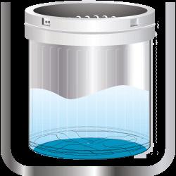No-Holes Tub - Water Saving