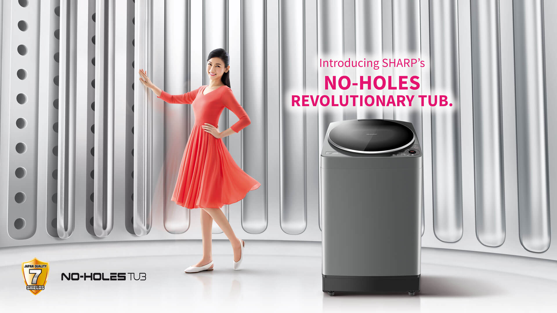 No-Holes Revolutionary Tub